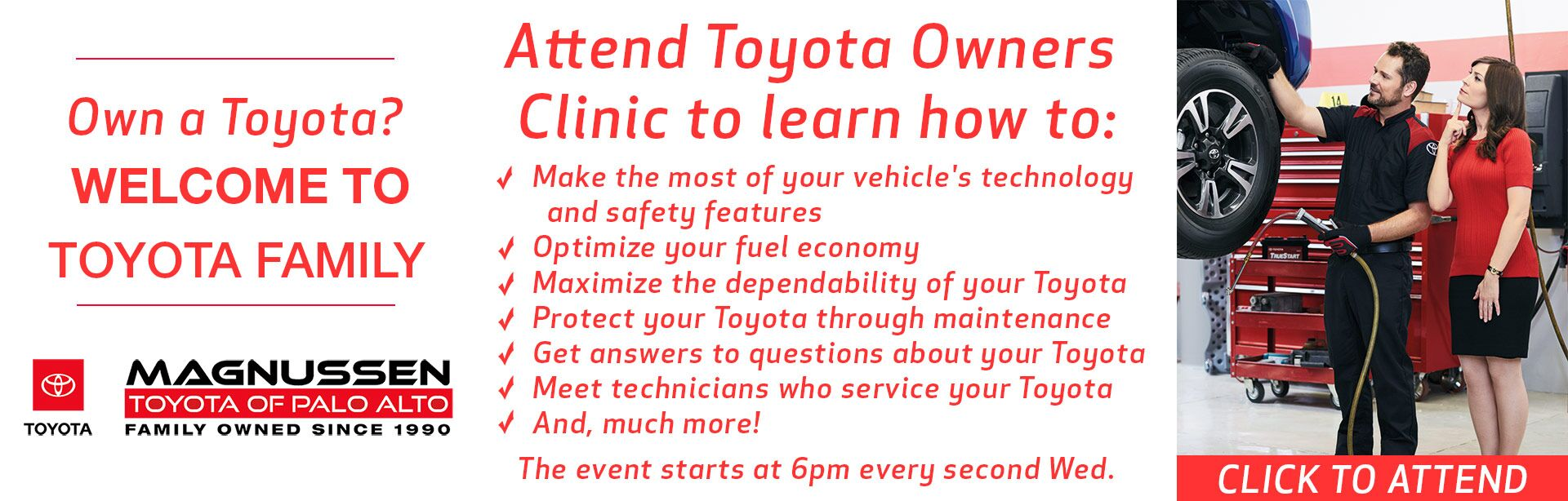 Toyota Owners' Clinic