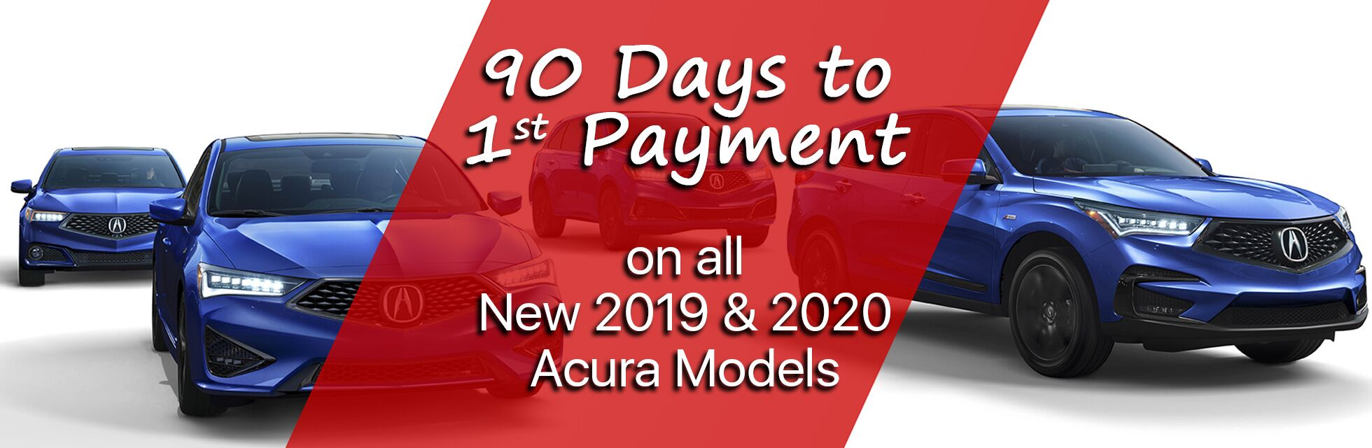 90 Days to 1st Payment Marin Acura 031420