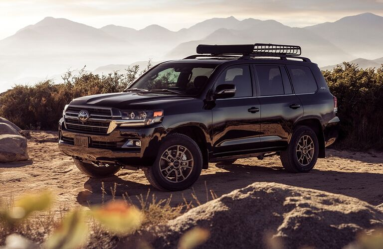 side view of the 2021 Toyota Land Cruiser