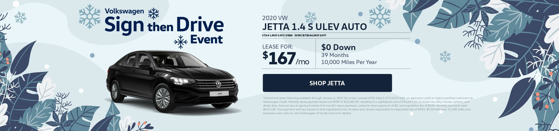 VW Jetta - updated 11.12.20