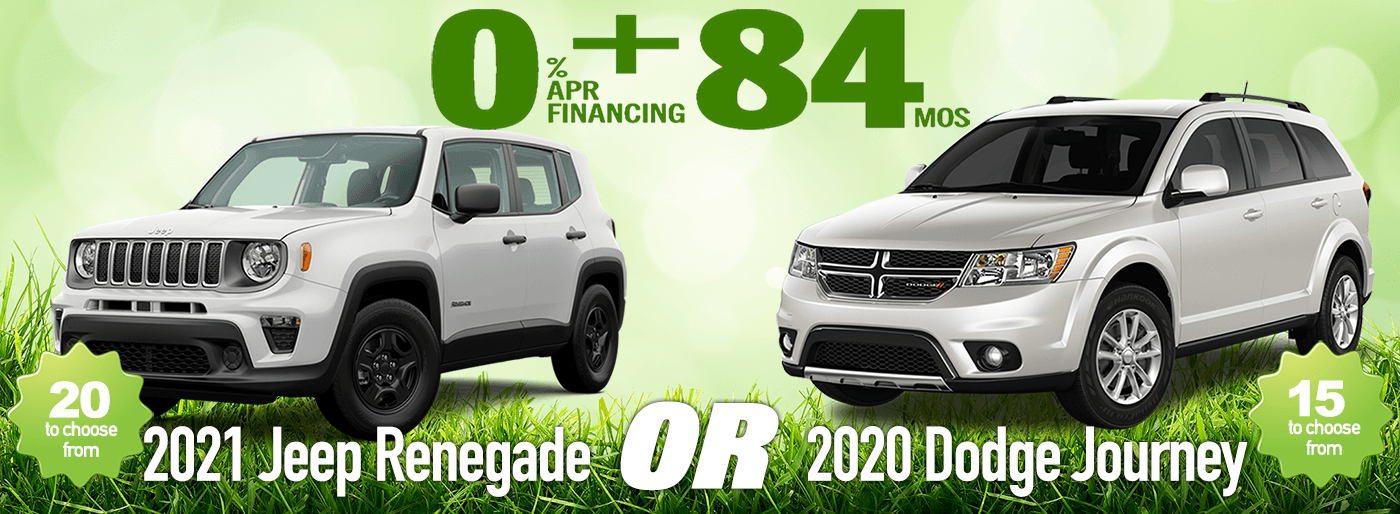 0 for 84 APR May 2021 Jeep Dodge Duo