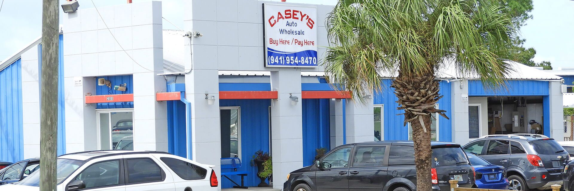 Used Vehicle Dealership Sarasota FL | Casey's Auto Wholesale