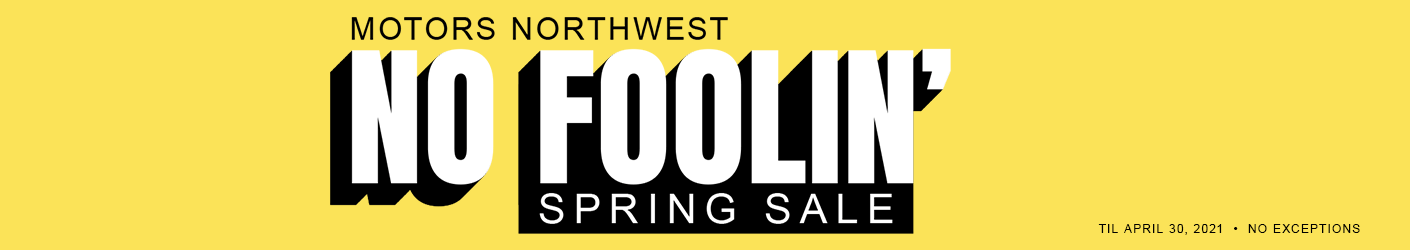 No Foolin' Spring Sale