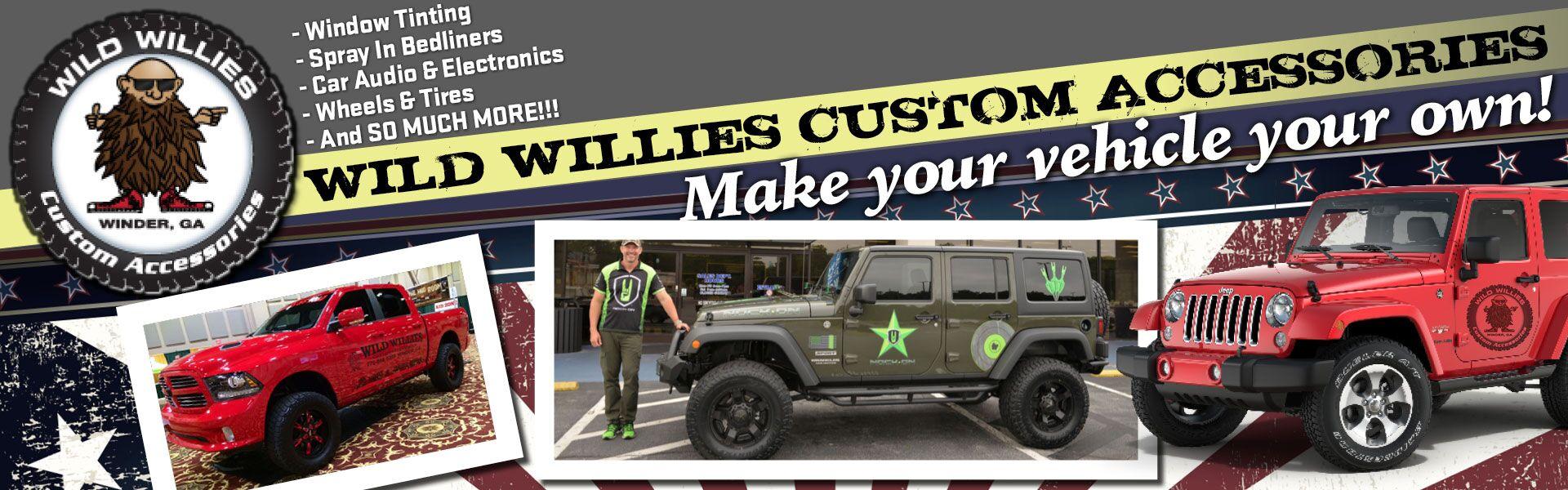Used Vehicle Dealership Winder GA | Wild Willie's Custom
