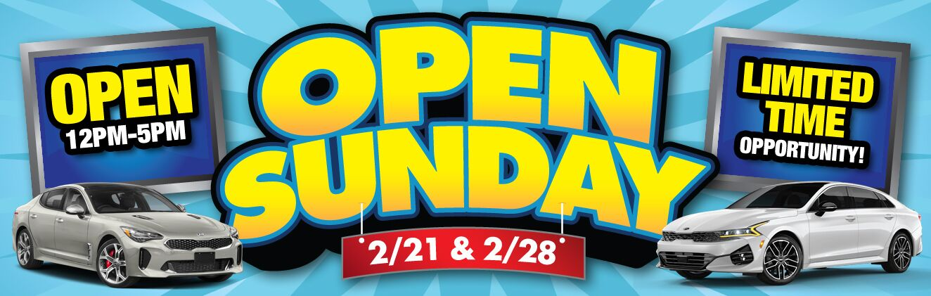 Open Sundays Updated