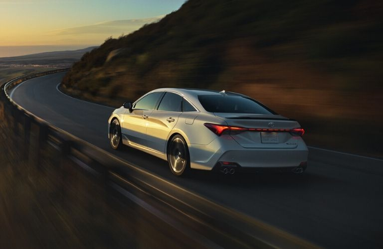2020 Toyota Avalon rear view driving