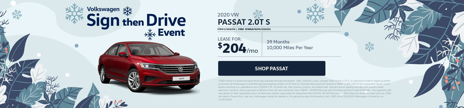 Passat - updated 11.12.20