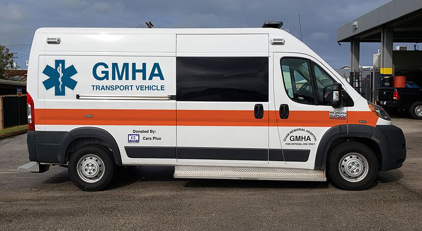 GMHA Ambulance Donation