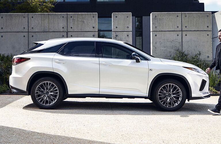 2020 Lexus RX parked outside
