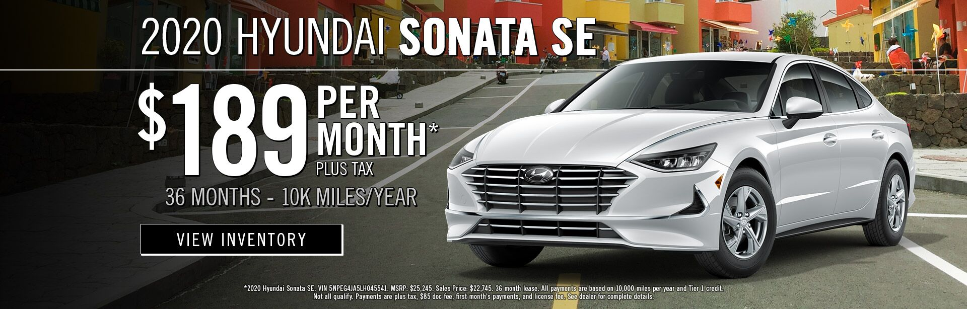 July - 2020 Sonata SE