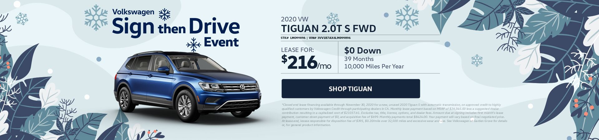 VW Tiguan - updated 11.12.20