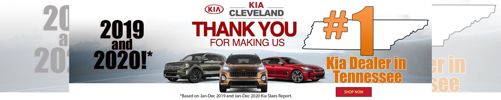 #1 Kia Dealer in Tennessee