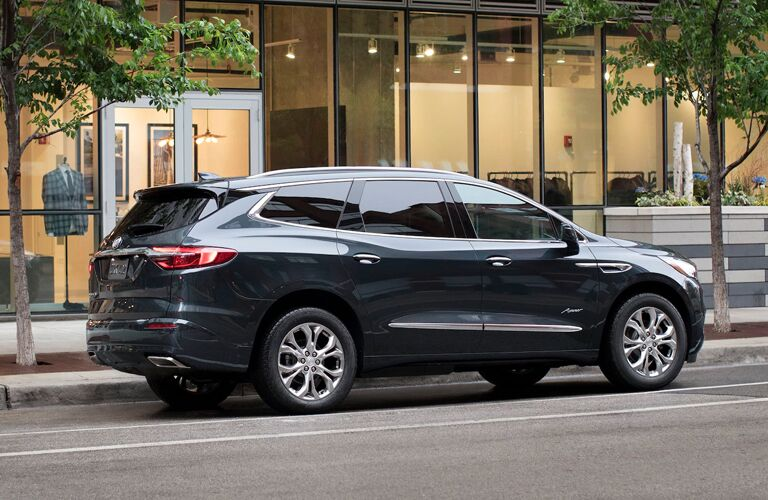 2020 Buick Enclave driving away