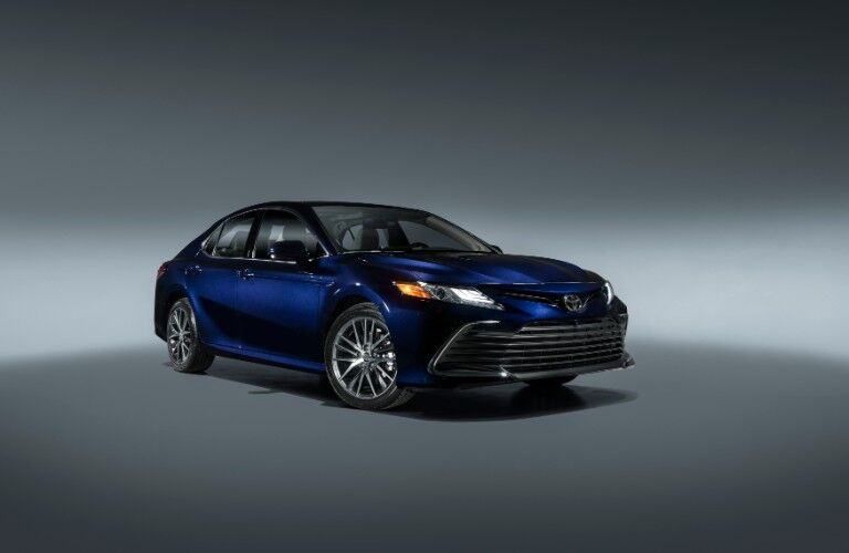 front view of the 2021 Toyota Camry