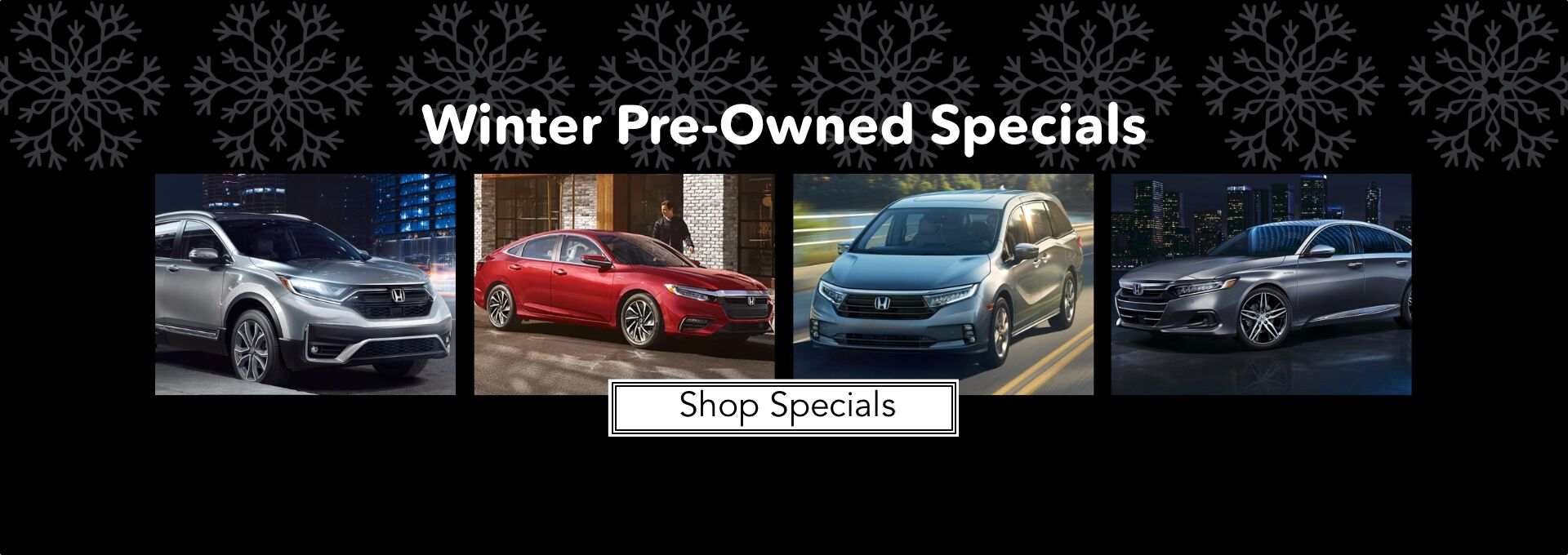 Winter Pre-Owned Specials