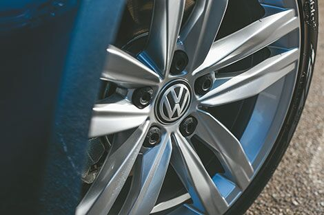 Volkswagen Tire & Wheel Protection with Optional Cosmetic Coverage
