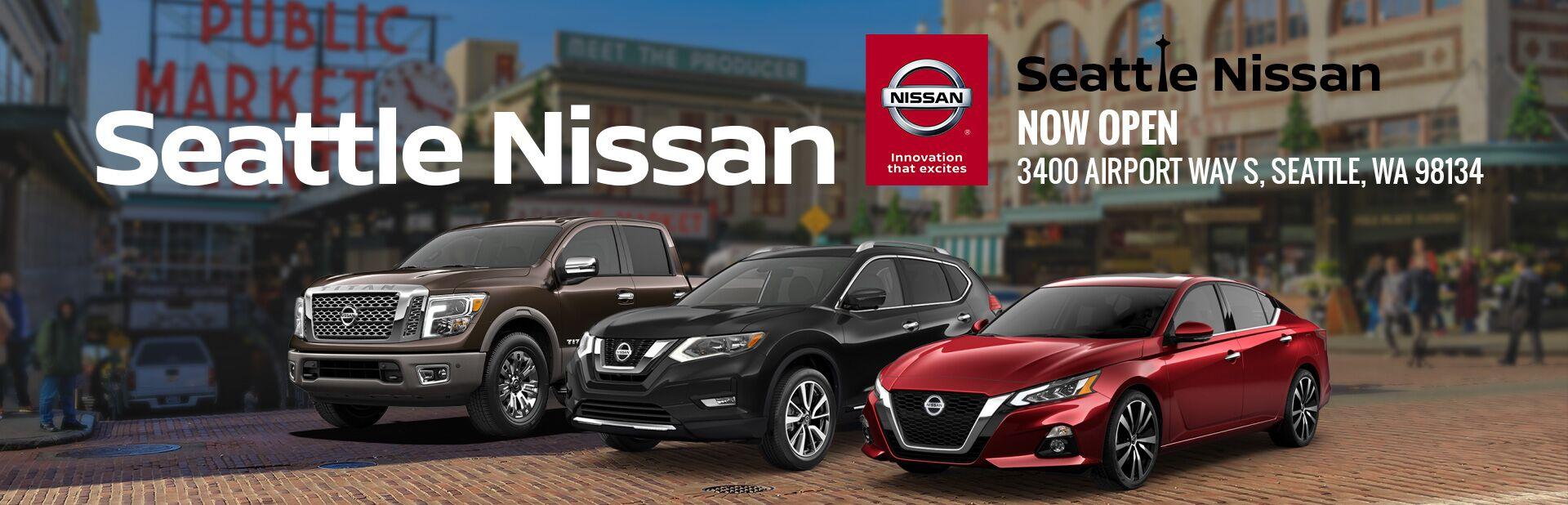 Nissan Dealership Seattle >> Nissan Dealership Seattle Wa
