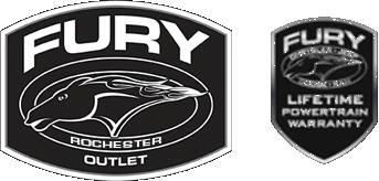 Fury Outlet Rochester logo