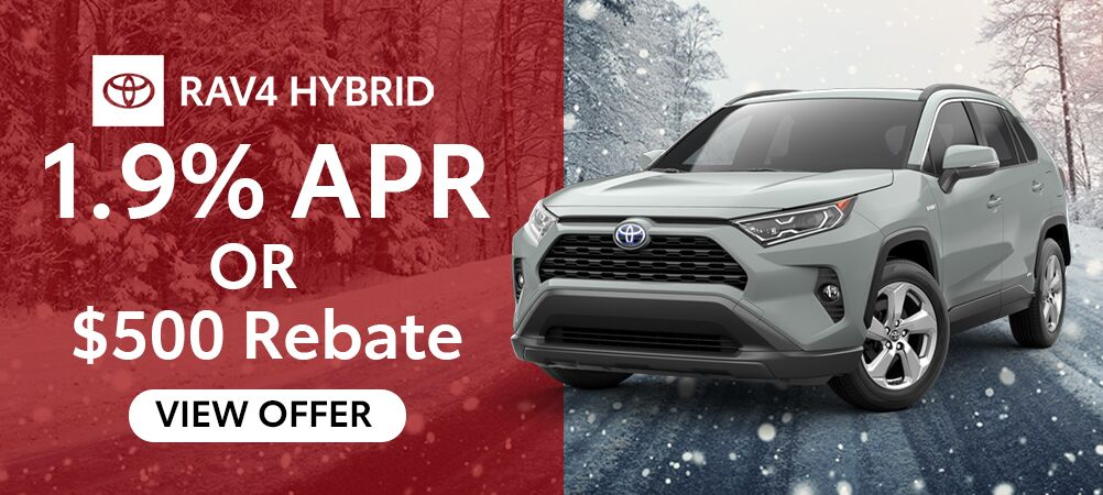 RAV4 Hybrid January Incentive
