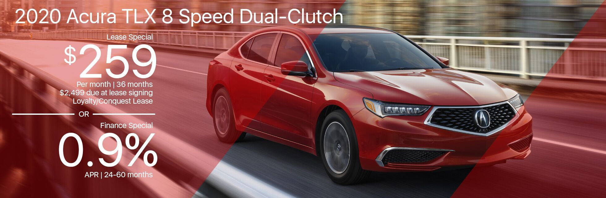 2020 Acura TLX Lease Finance Special Marin Acura 030720
