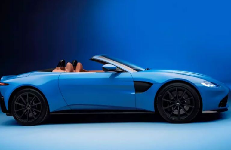 2020 Aston Martin Vantage in blue