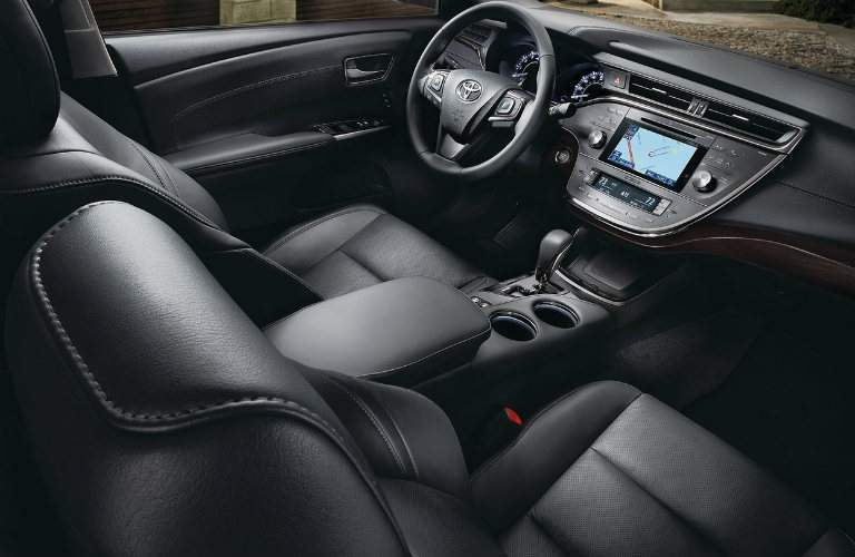 Cabin of the 2018 Toyota Avalon
