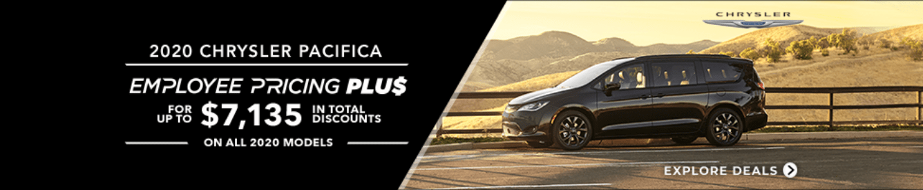 Shop New Chrysler Pacifica Models