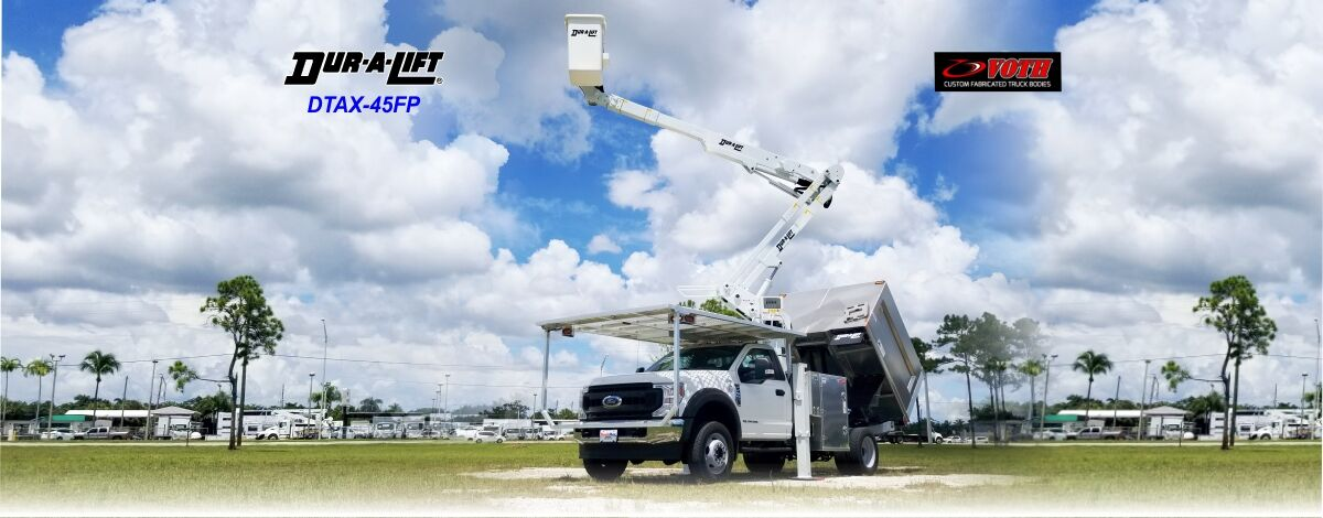 Urban Forestry Bucket Truck for sale