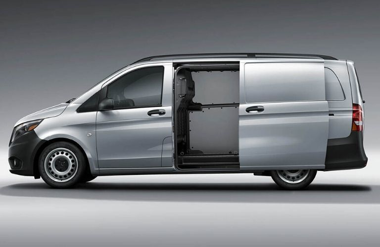 2020 Mercedes-Benz Metris Cargo Van side profile