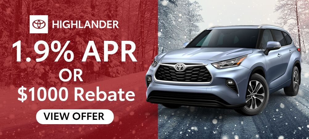 Highlander January Incentive