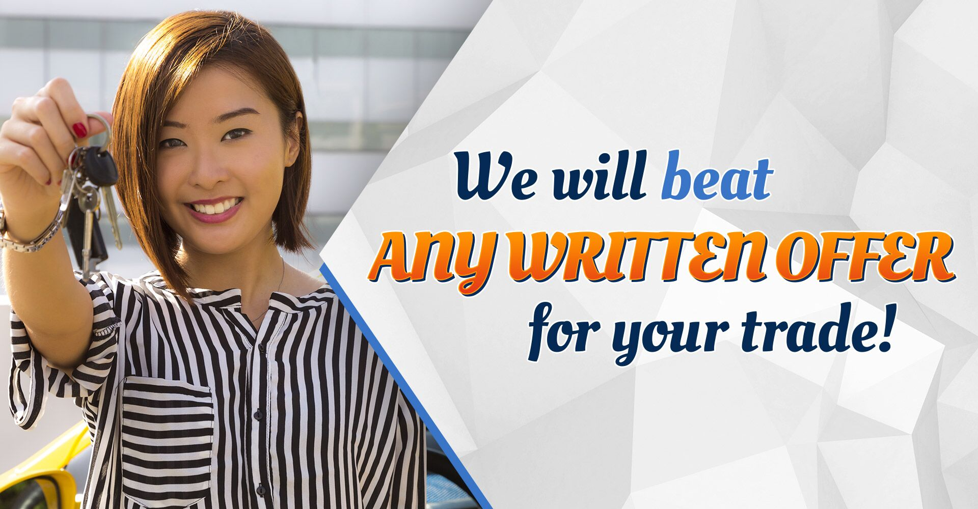 We Will Beat Any Written Offer