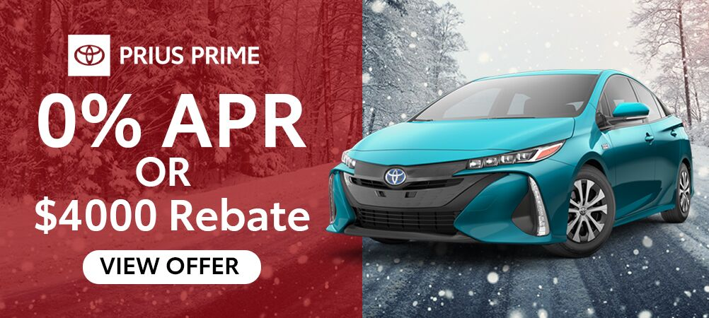 Prius Prime January Incentive