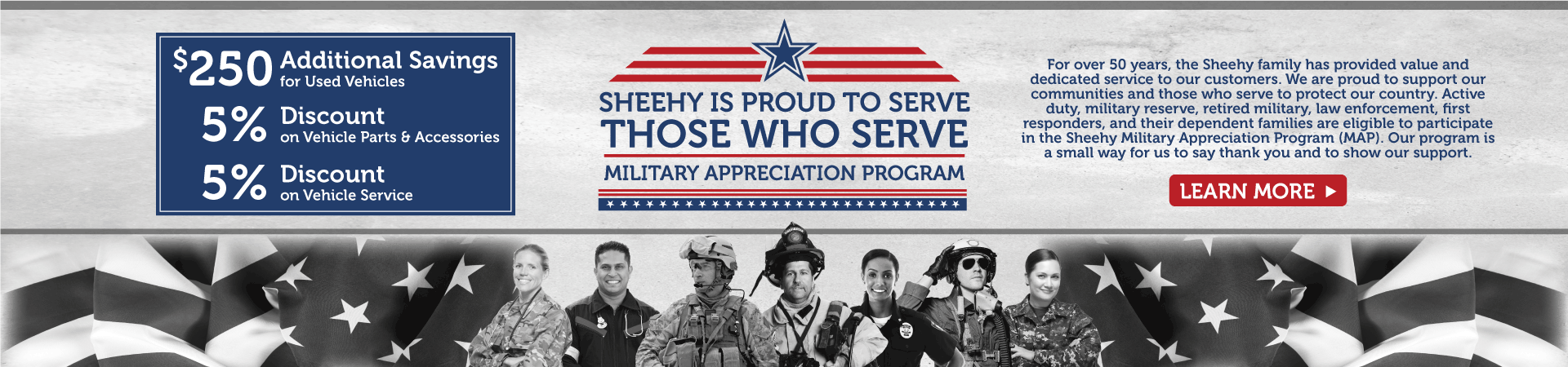 Sheehy Military Appreciation
