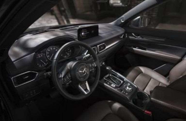 2021 Mazda CX-5 interior view