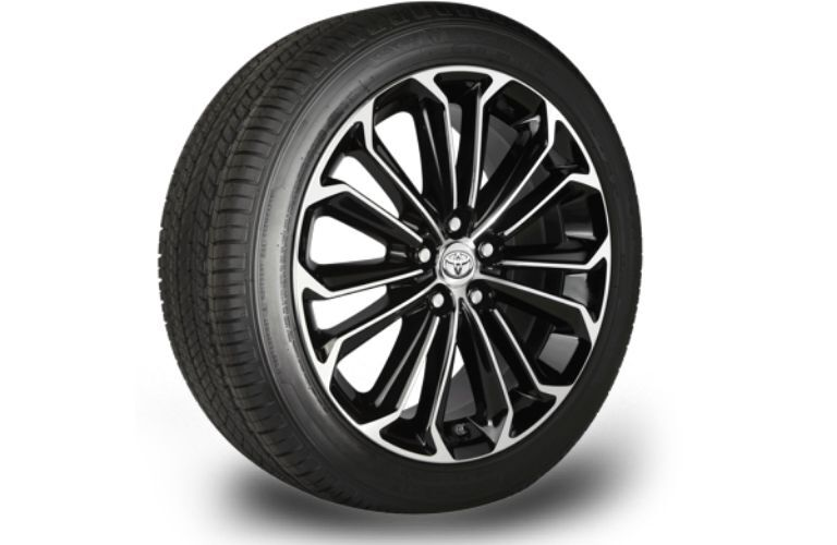 Image of a Toyota wheel and tire