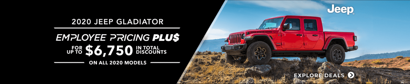 Shop New Jeep Gladiator Models