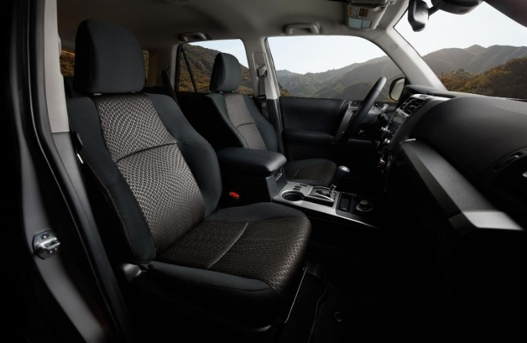 2021 Toyota 4Runner front seats
