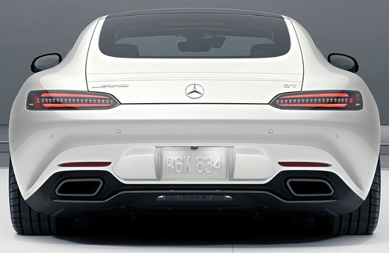 Back of the 2018 Mercedes-AMG® GT S Coupe