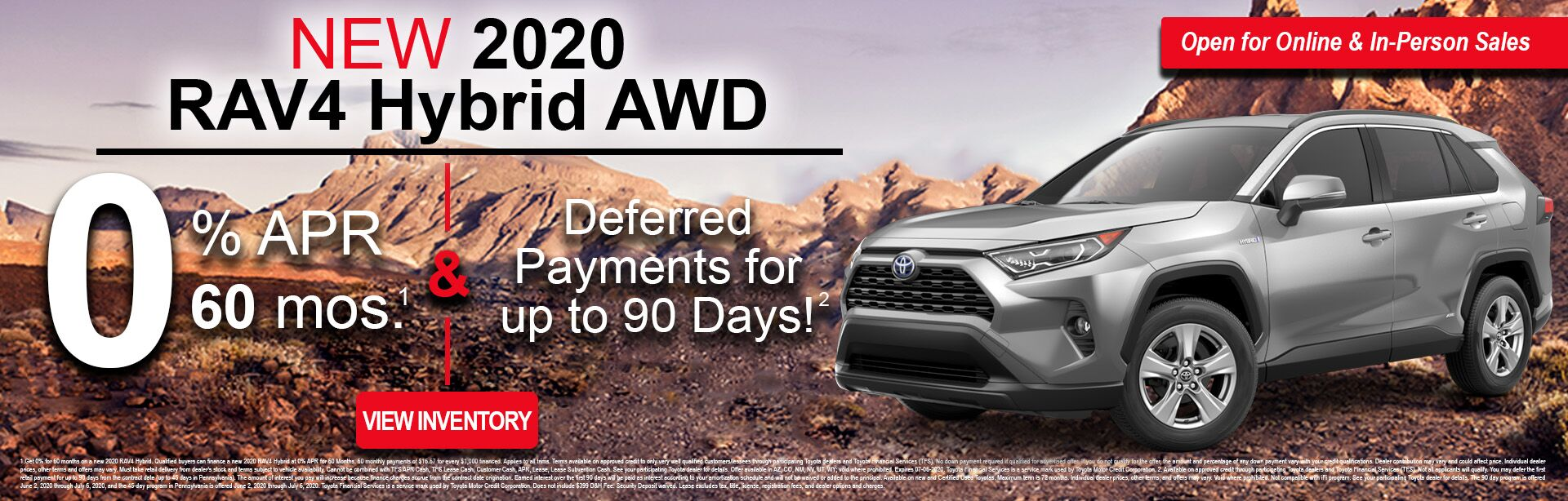 RAV4 Finance Offer