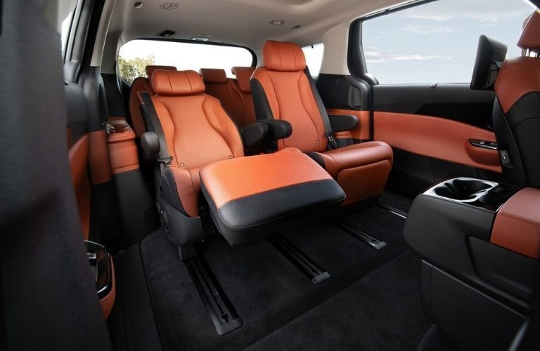 Rear seats in 2022 Kia Carnival