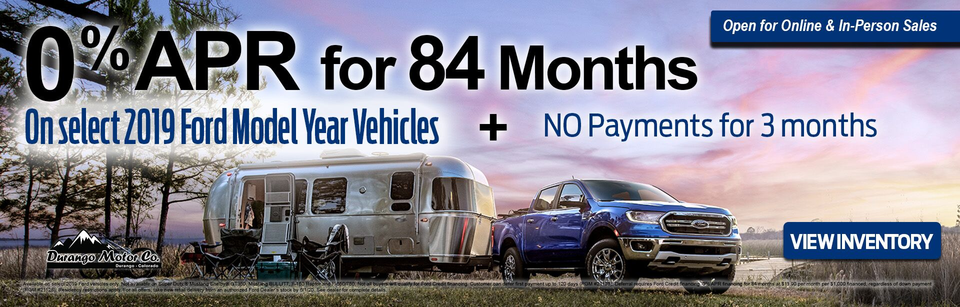 MAy 0% for 84 months ford offer