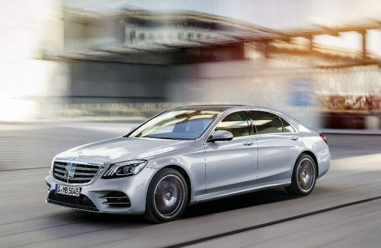 2018 Mercedes-Benz S-Class Sedan exterior front side