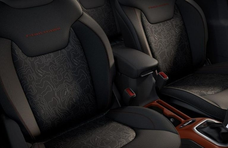 2020 Jeep Renegade interior seats view