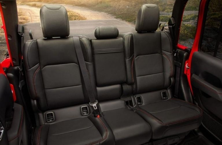 2020 Jeep Gladiator seat view