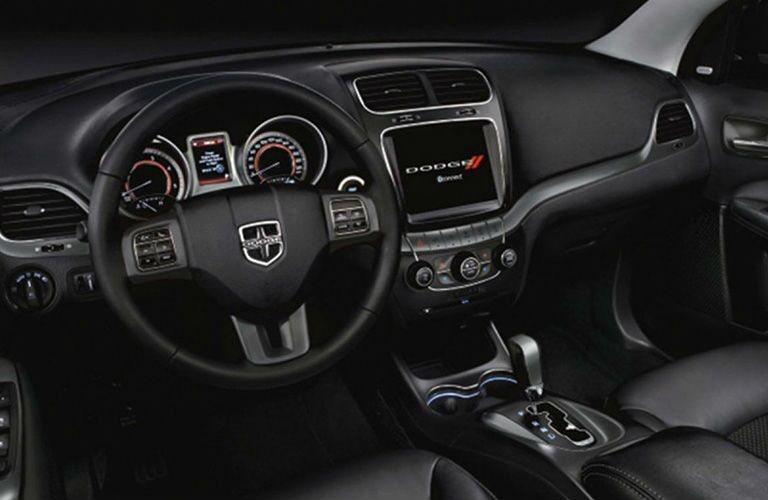 2019 Dodge Journey front interior