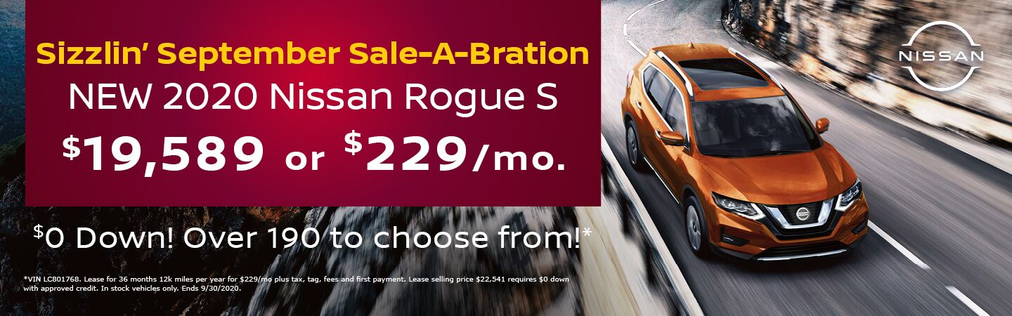 2020 Rogue S Special