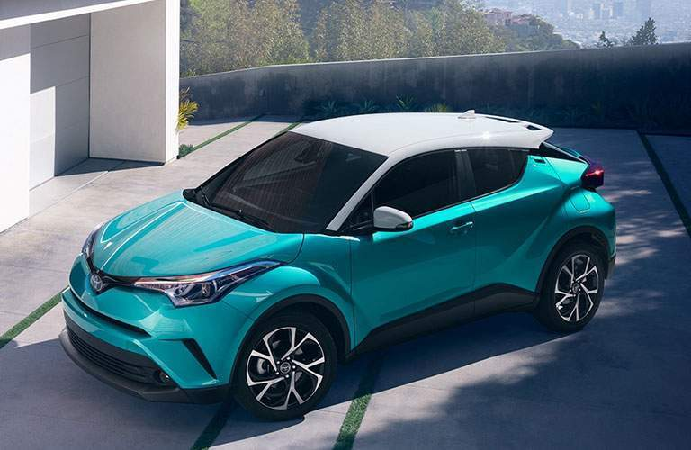 2018 Toyota C-HR in the spotlight