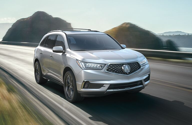 2020 Acura MDX in gray