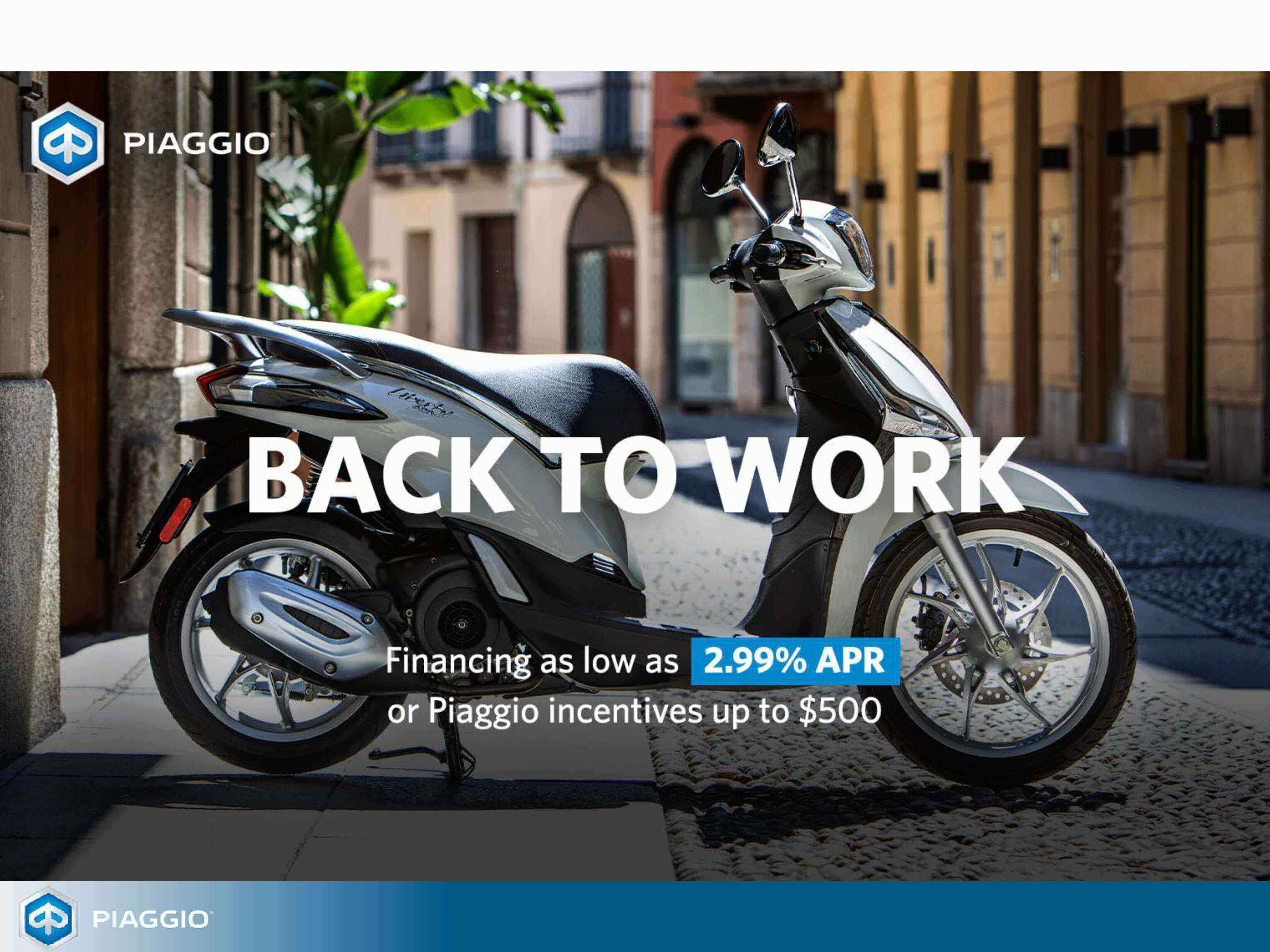 Back to Work Piaggio