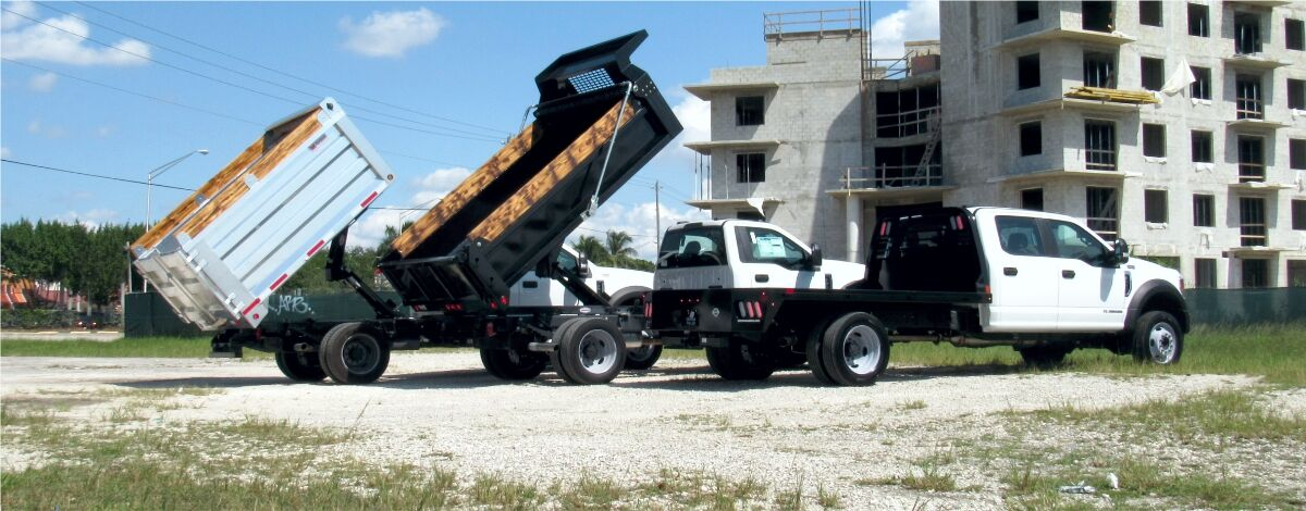 Flatbed Contractor Truck for Sale